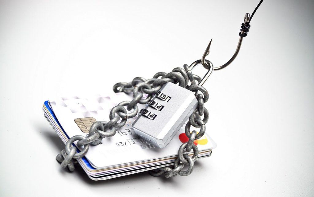 Hook around credit cards