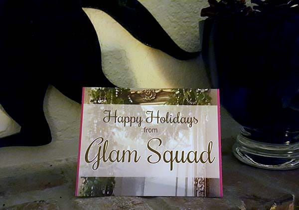 Customer holiday card