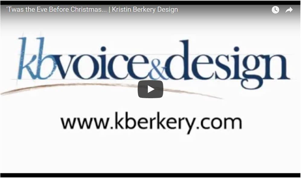 VIDEO: 'Twas the Eve Before Christmas… A Tale for Small Business Owners