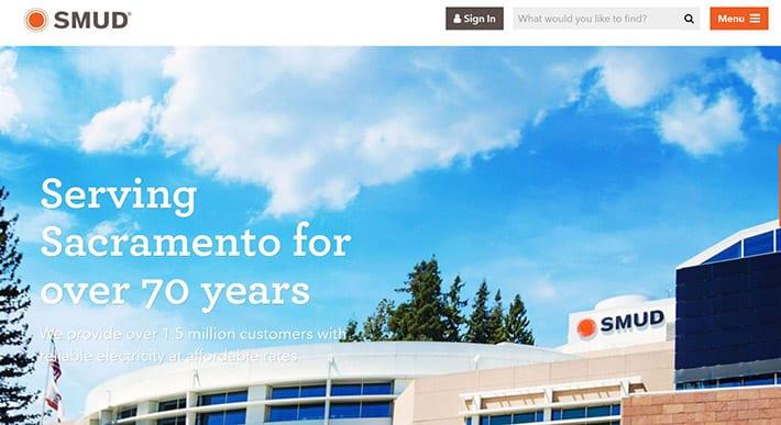 SMUD.org website