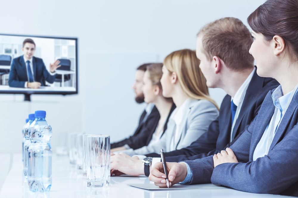 Video training for employees